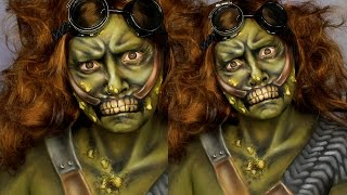 Fallout 4 Super Mutant Makeup Tutorial | Jordan Hanz