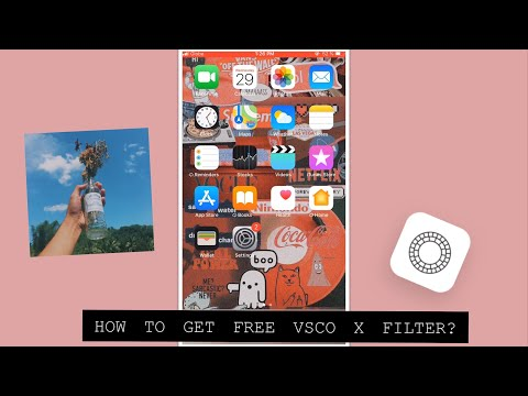 HOW TO GET FREE VSCO X FILTER On Ios/android