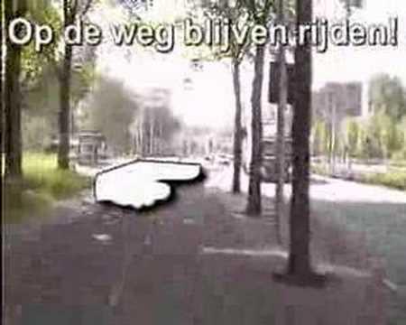Fietsparcours Triatlon Amsterdam Nieuw West