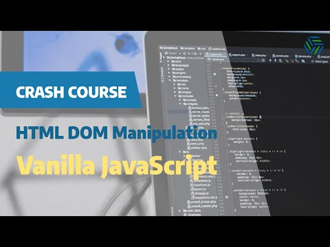DOM Manipulation in JavaScript Crash Course thumbnail