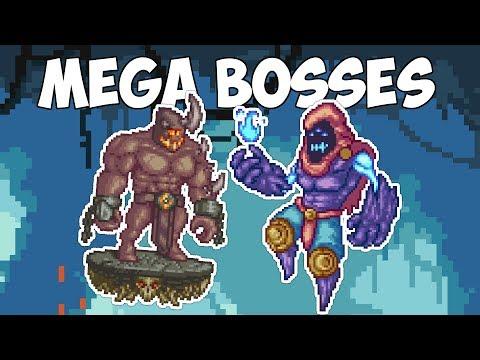 Terraria MEGA BOSSES - 8 Spirit Mod Boss Fights!