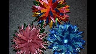 Цветок Клевера из атласной ленты / Мамулькины тврилки