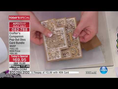 HSN | Crafter's Companion 05.09.2017 - 07 PM