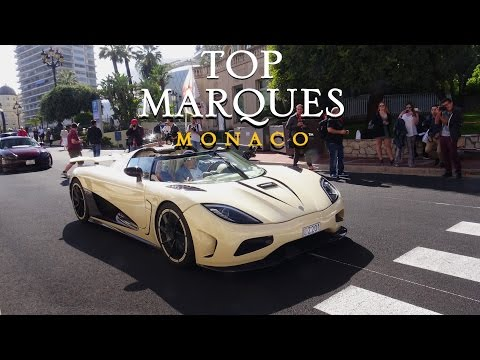 TOP MARQUES MONACO 2017 - Best Supercar Sounds!