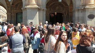 Desalojado el Ayuntamiento de Salamanca por una falsa alarma de incendio