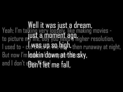 B.o.B - Don't Let Me Fall (Lyrics HD)