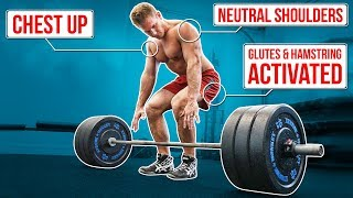 How To Deadlift Safely For Growth |  FIX ALL MISTAKES!