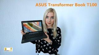 ASUS Transformer Book T100: Обзор нового, портативного ноутбука