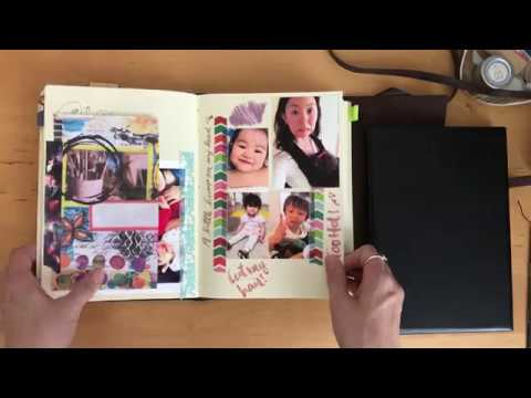Leather Journals Gatz Bcn Unboxing and Journal usage | omni journal