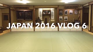 Japan 2016 VLOG 6: Judo at Sekiryukan Dojo