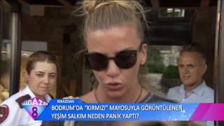 Ivana Sert Ve Oğlu Ateş'den Bodrum'da Magazin 8'e Özel Açıklamalar