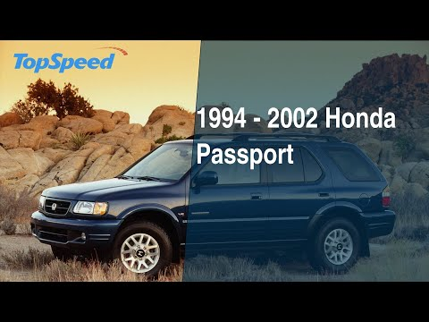 1994 2002 Honda Passport Youtube