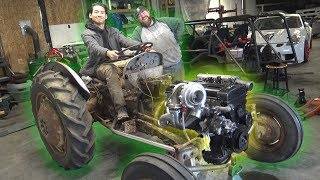 We 2JZ Swapped a FARM TRACTOR!