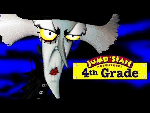 Jumpstart 4th Grade: Haunted Island - Horror Edutainment