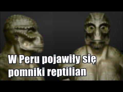 W Peru pojawiły się pomniki reptilian – humanoidalnych gadów