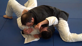 side control using the gi - with a few submission options