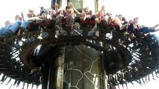 Scream in Heide Park Germany 2011(Swobodny spadek z najwyższej na świecie konstrukcji tego typu. Spadek z 71m, w najszybszym momencie 100km/h., 2011-09-05T16:27:01.000Z)