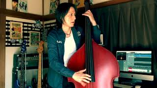 LITTLE MISS PRISSY / STRAY CATS (LEE ROCKER)【DOUBLE BASS COVER】