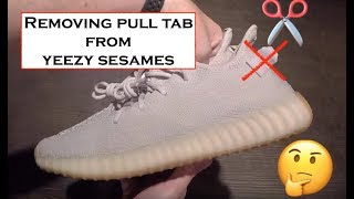 Yeezy 350 V2 SESAME - No pull tab