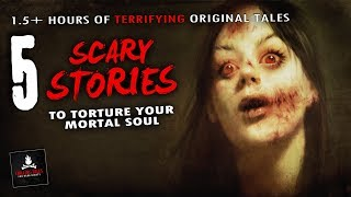 """5 Scary Stories to Torture Your Soul 💀 """"Stay Inside the Car"""" & Other Tales"""
