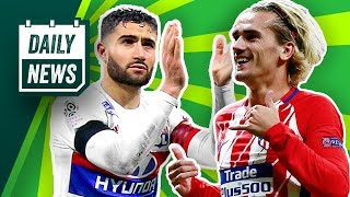 TRANSFER NEWS: Nabil Fekir signs for Liverpool? & Griezmann to Barcelona? ► Daily Football News