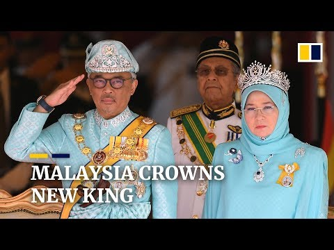 Malaysia's new king Sultan Abdullah Sultan Ahmad Shah ascends to throne