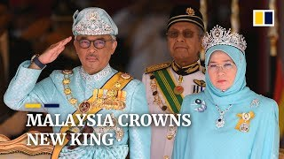 Download Mp3 Malaysia's New King Sultan Abdullah Sultan Ahmad Shah Ascends To Throne
