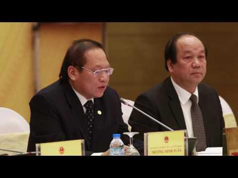 Bộ trưởng Trương Minh Tuấn nói về Cách mạng Công nghiệp 4.0