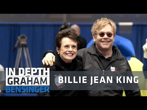 Billie Jean King: Elton John wrote me a No. 1 song