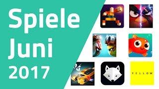 Top Spiele für Android & iOS - Juni 2017