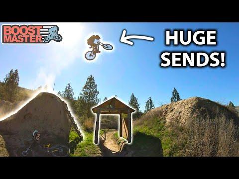 AMAZING Big Mountain FREERIDE in KAMLOOPS! & Fast Downhill at Harper Mtn | Jordan Boostmaster