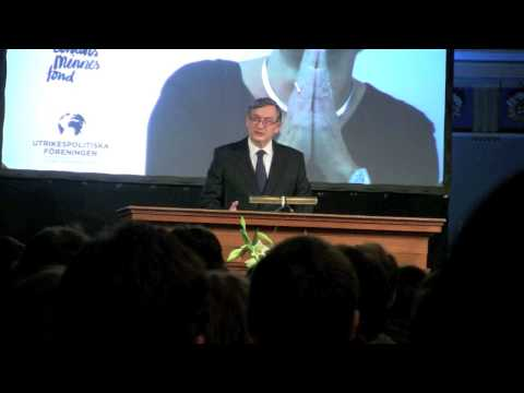 Danilo Türk, former president of Slovenia - Human rights in a temporal perspective