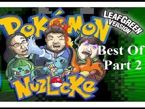 Best Of TFS Gaming Pokemon Leaf Green NUZLOCKE - Part 2 (39 - 60) (Let's Play) (teamfourstar)