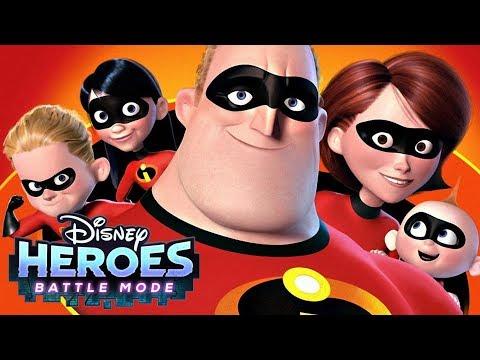 FULL INCREDIBLES TEAM !!  - Disney Heroes: Battle Mode