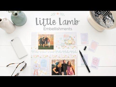 Little Lamb Baby Embellishments   Creative Memories Australia