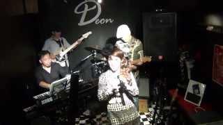 G.脇田彰 D.古山哲 B.林亮一 P.松井昭弘 Live@Nagoya Bar Deon.