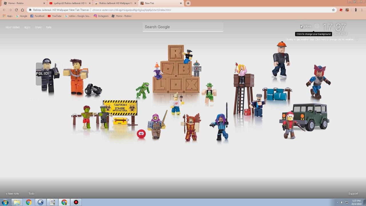 affendiraziman Roblox Jailbreak HD Wallpaper New Tab Themes