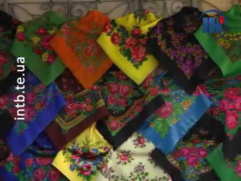 Телеканал ІНТБ: Тернополянка колекціонує українські хустки