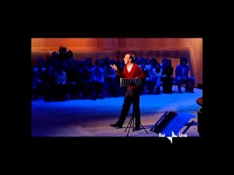 Roberto Benigni - commento Divina commedia Paradiso. Spirito Santo