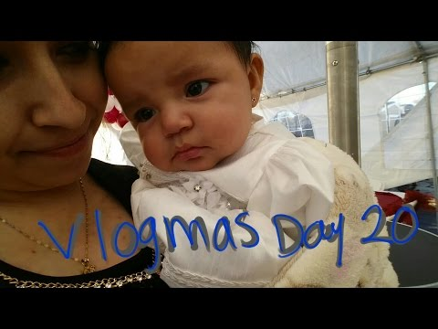 Vlogmas Day 20: Just A Quick Hello
