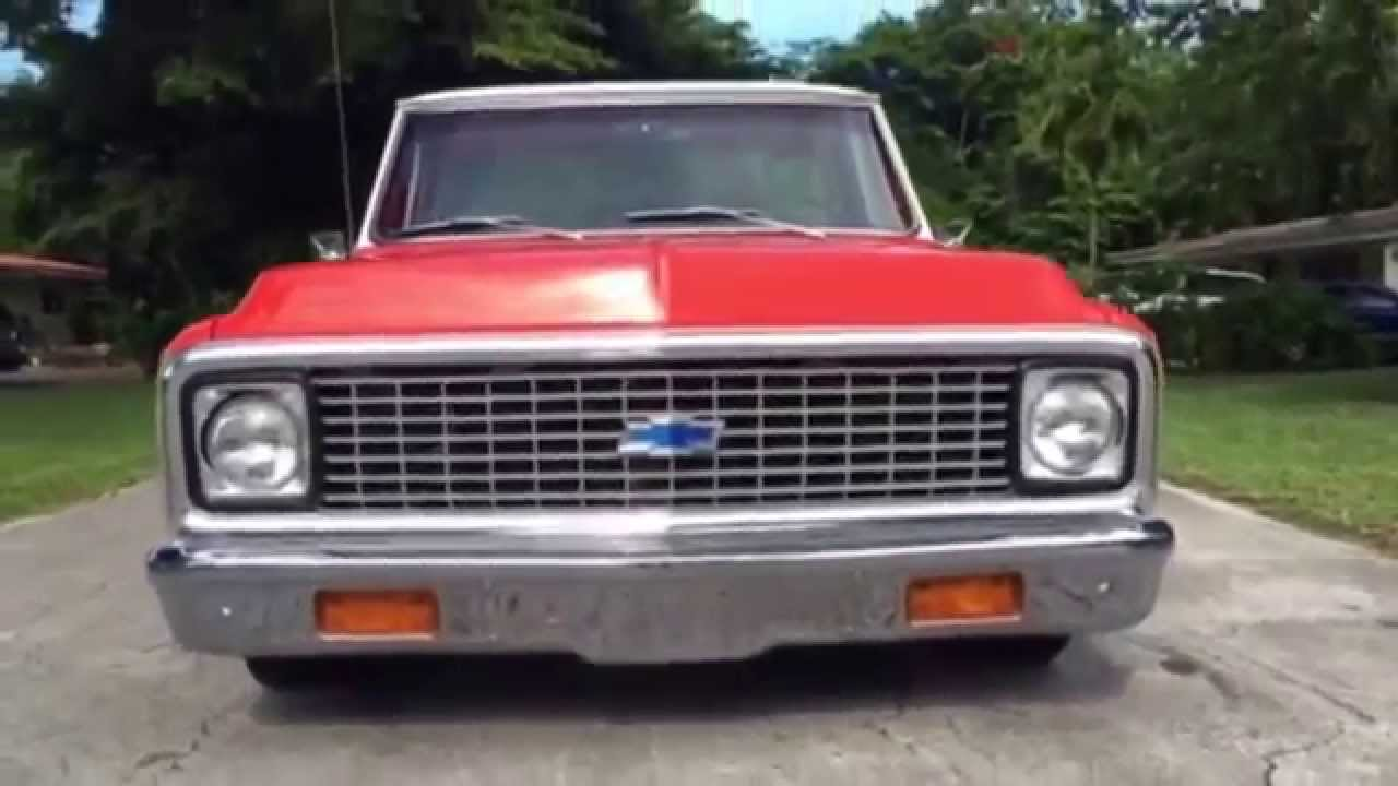 All Chevy c10 72 chevy : FOR Sold 72 Chevy C10 pickup #chucksee - YouTube