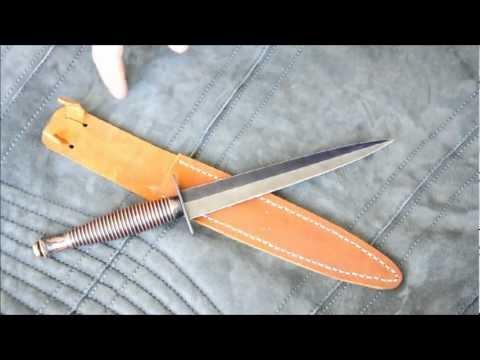 Обзор боевого ножа Fairbairn Sykes Fighting Knive