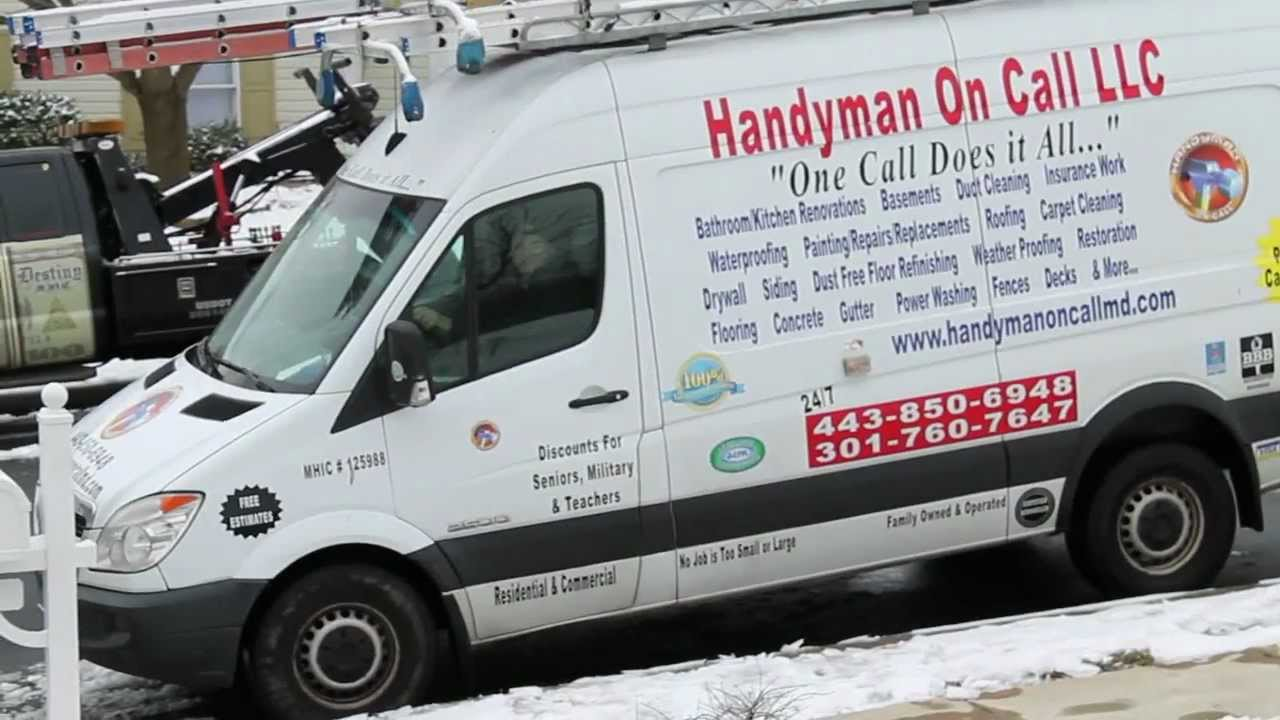 Handyman Service Columbia Md Carpentry Work Home Remodeling On Call Renovation