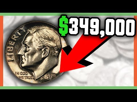 $349,000 RARE DIME WORTH MONEY - RARE DIMES TO LOOK FOR IN POCKET CHANGE!!