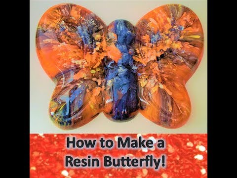 How to Make a Resin Monarch Butterfly!