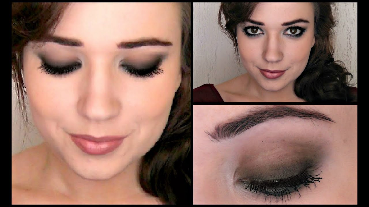 Super Easy Smoky Eye Prom 2013 - YouTube