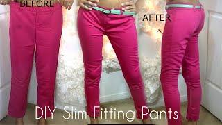 DIY Slim Fitting Pants (EASY) | SugarStilettosStyl