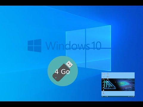Installer Windows10 avec