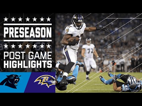 Panthers vs. Ravens | Game Highlights | NFL
