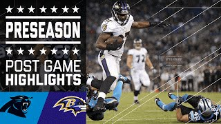 Panthers vs. Ravens | Game Highlights | NFL